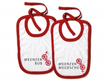 Bib: Meenzer Bub / Meenzer Meedsche (Mainz boy or girl)